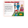 4-1575 Personal Safety Award Certificates - English