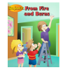 5-4410 I'm Safe! from Fire and Burns Activity Book - English