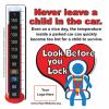 2-5110  Heatstroke Thermometer Window Cling