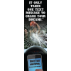 3-6001 It Only Takes One Text Message to Crash Your Dream Bookmark - English