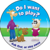 9-1310-2 Do I Want to Play Stickers - English