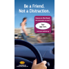 "3-7020 ""Be a friend. Not a distraction."" Screen Cleaner"