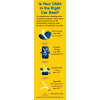 "2-3025 ""Is Your Child in the Right Car Seat?"" Bookmark"