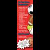 TF-4895 Concussion Prevention Bookmark - ThinkFirst