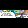 TF-3800 I'm a Safe Walker Bookmark - ThinkFirst