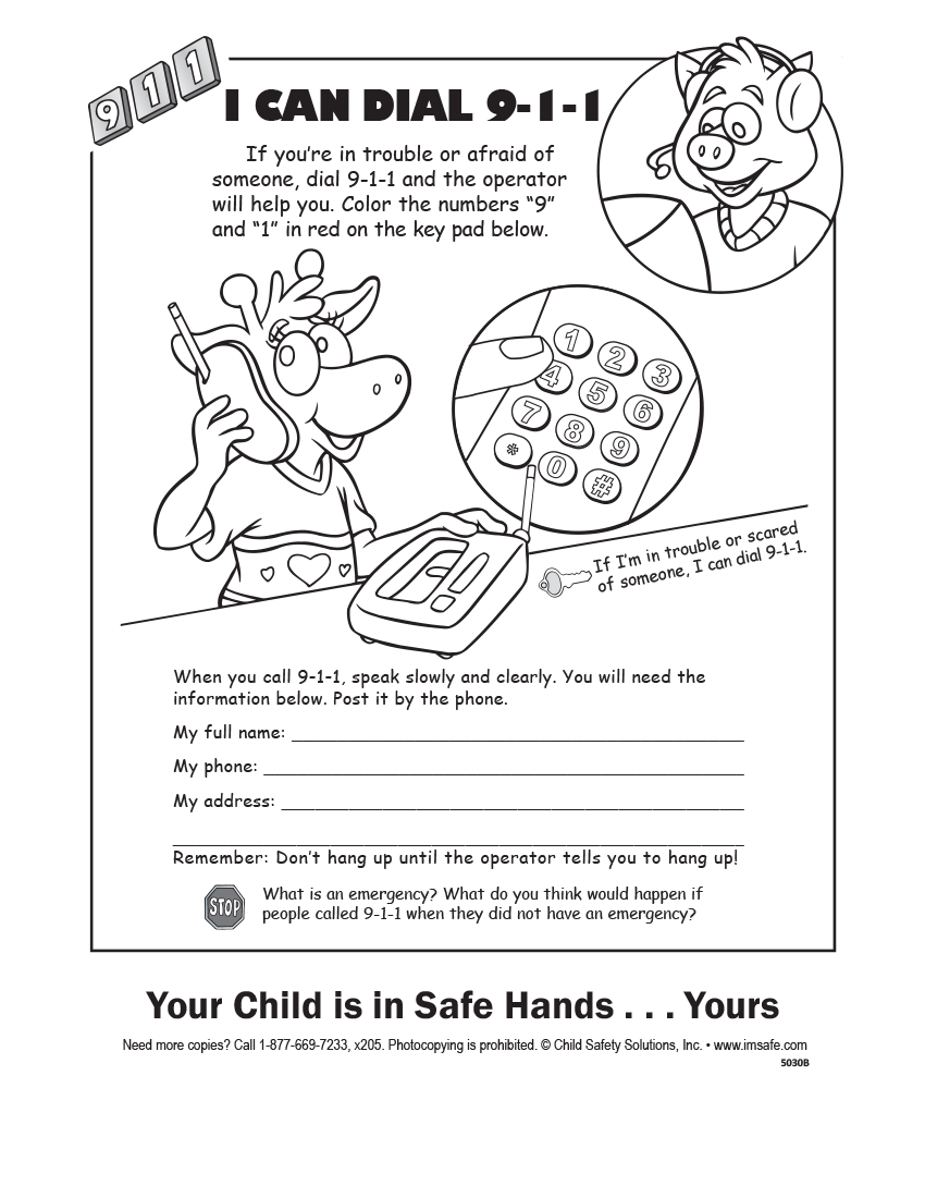 4 5030 parent tip sheet calling 9 1 1 english i u0027m safe