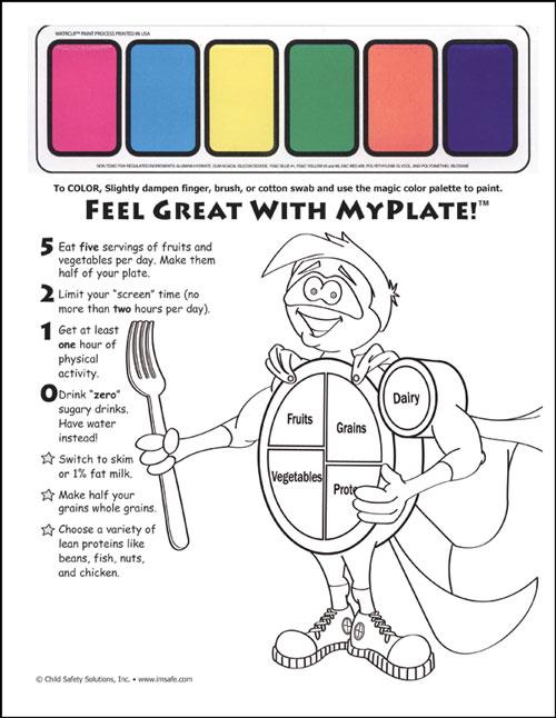 11 4000 Myplate Nutrition Education Kit For Head Start I