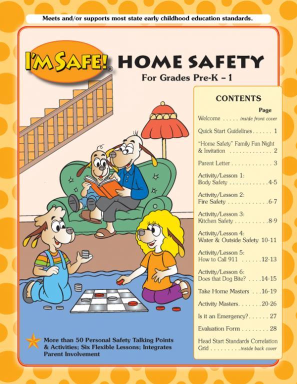 write short essay child safety home